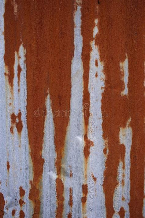 zinc rust texture pattern abstract corrugated rusty vertical sheet close metal abandoned