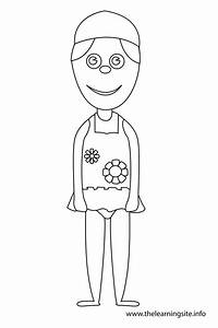 Free coloring pages of bathing suit