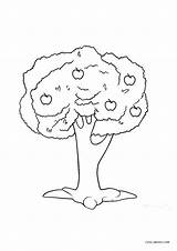 Coloring Pages Tree Trees Printable Cool2bkids sketch template