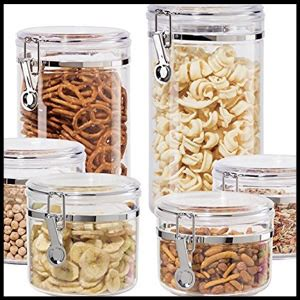 Oggi Kitchen Canisters by Top 10 Best Kitchen Canisters In 2019 Reviews