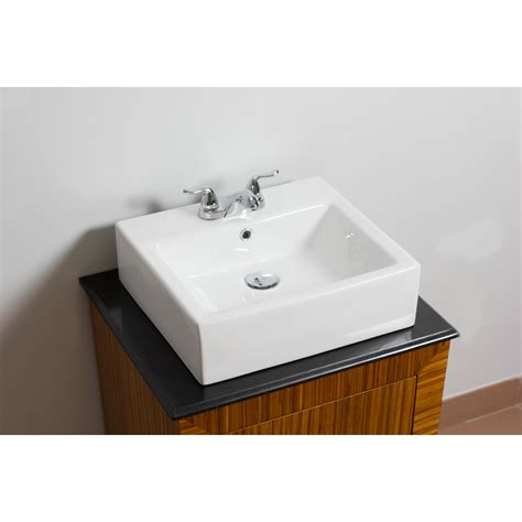 Rectangle Bathroom Sink by American Imaginations Wall Mounted Rectangle Vessel