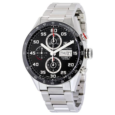 tag heuer carrera tag heuer carrera automatic chronograph men 39 s watch cv2a1r
