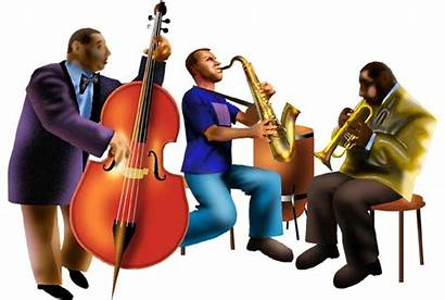 Clipart Jazz Band Clip Cliparts Quintet Transparent