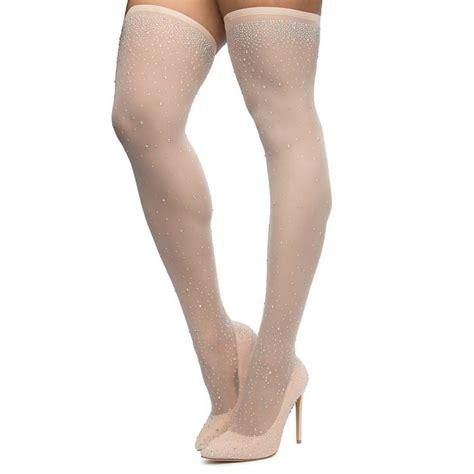Womens Venus Thigh High Stocking Heel Nude