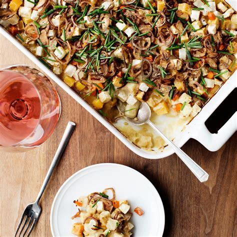 Rootvegetable Hot Dish With Parsnip Puree Recipe Gavin