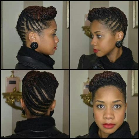 what are some protective styles for hair toni of my sistas style flat twist updo