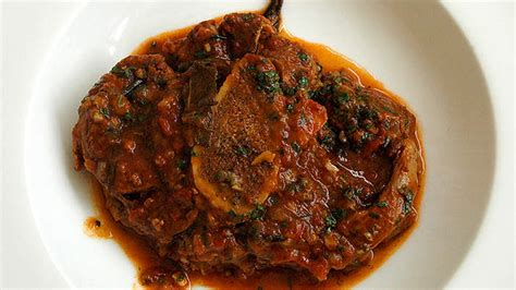 Veal Osso Buco With Gremolata  Italian Recipes  Sbs Food