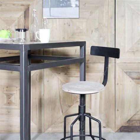 chaise de bar style industriel 27 idées déco de tabouret et chaise de bar industriel