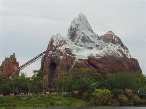 expedition everest ride   yeti picture  disney