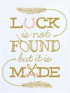 Make your own l... Find Luck Quotes