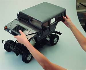 Hummer H1 | 1:8 Scale Model Off-Road Car | Full Kit ...