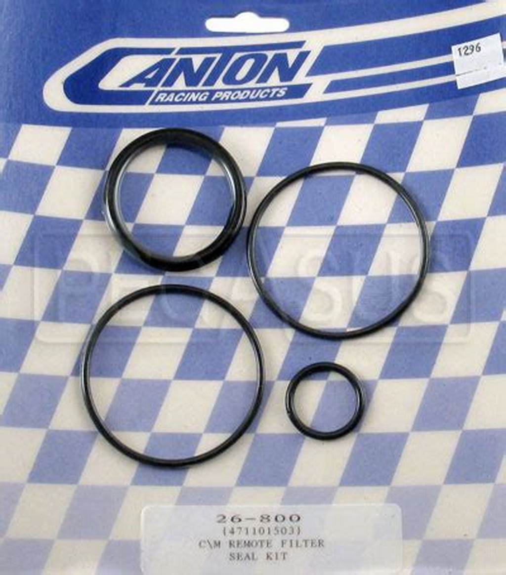#Canton #Remote #Oil #Filter #Seal #Kit