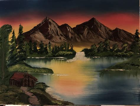 Bob Ross Painting # 6 (inspired By Season 3 Episode 1