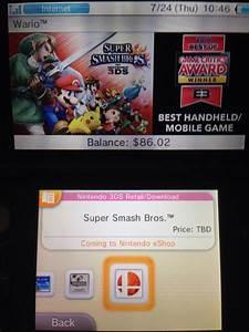 EShop Lists Super Smash Bros For 3DS Under Wario Section