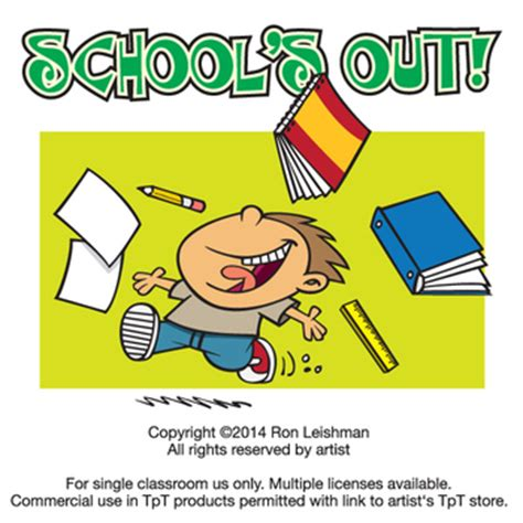 Schools Out Clipart School S Out Clipart By Leishman Digital
