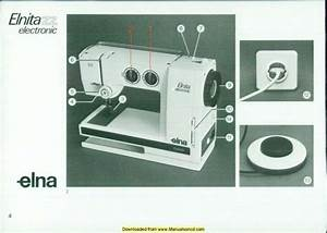 Elna Elnita Electronic Zz Sewing Machine Manual Manual