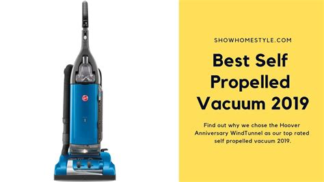 propelled vacuum cleaner  hoover