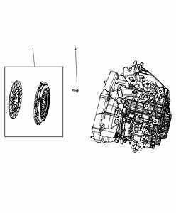 2018 Jeep Compass Clutch Assembly