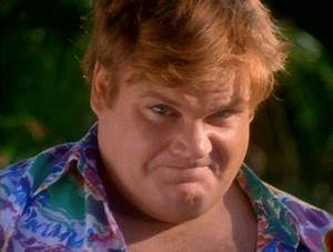 Chris Farley Hello GIF  Find & Share on GIPHY