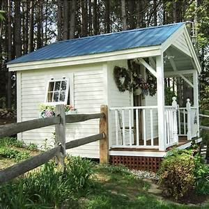 16 garden shed design ideas for you to choose from With big backyard sheds