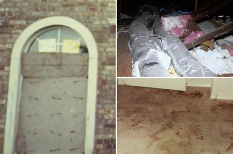 turpin family photos reveal conditions inside home including scratch marks and cages daily star