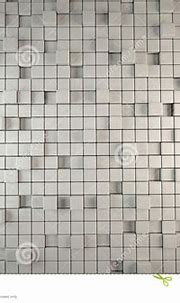 Abstract 3D Background Of Grey Cubes Stock Illustration ...