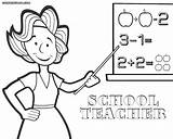 Teacher Coloring Clipart Clipground Colorings Nice sketch template