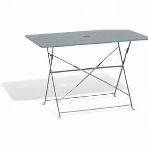 Table 4 Personnes : table de jardin rectangulaire pliante 4 personnes m tal ~ Melissatoandfro.com Idées de Décoration
