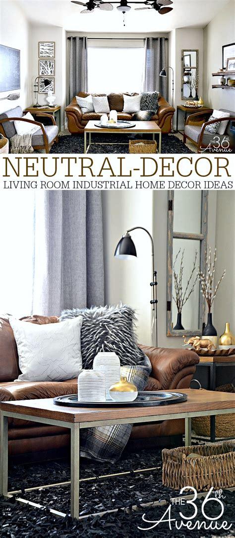 home decor neutral living room   avenue