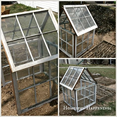 The structure will be different for everyone depending on the size of. Homespun Happenings: DIY Greenhouse Out of Old Windows