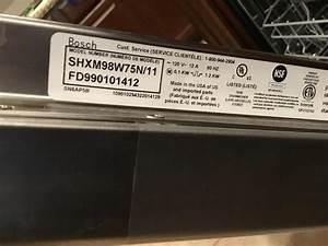 Bosch Dishwasher Shxm98w75n  11 Service Manual