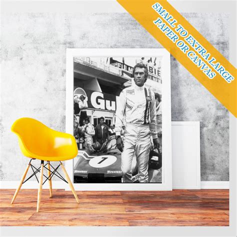 steve mcqueen sofa and gun poster steve mcqueen the king of cool poster rolled art print photo