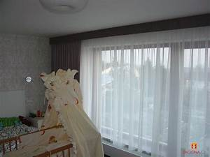 Vorhänge Für Große Fenster : ein schlafzimmer vorerst zweier generationen heimtex ideen ~ Sanjose-hotels-ca.com Haus und Dekorationen