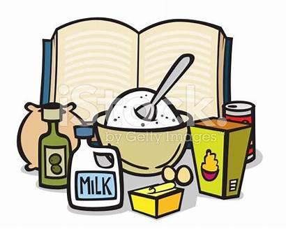 Clip Ingredients Clipart Cooking Bake Baking Egg