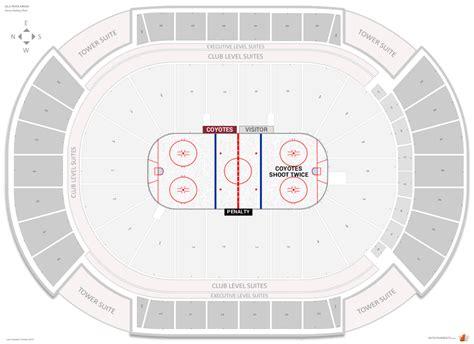 Arizona Coyotes Seating Guide - Gila River Arena ...