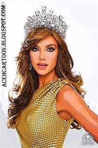 PICTURE: Miss Universe 2011~Vanessa Gonçalves Cartoon