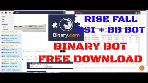 Stoch rsi binary bot is a hugely powerful bot that is not usually used by the traders. Binary Bot RISE FALL RSI+BB ( Free Download) - YouTube