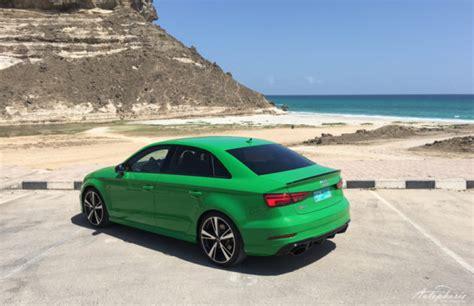 Audi Rs 3 Limousine 2017 by Erstmals Carbon Keramik Bremse F 252 R Die Vorderachse