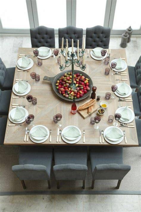 Esszimmer Le Großer Tisch by Quadratischer Tisch Sehr Sch 246 Ne Modelle Archzine Net