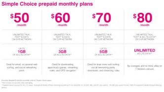 t mobile smartphone plan t mobile s new prepaid plans are simpler but take a step