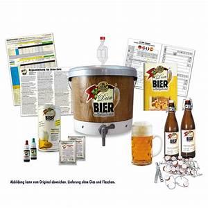 Bier Brauen Set : ein bierbrau set mit dem man sein eigenes bier herstellen und probieren kann ~ Eleganceandgraceweddings.com Haus und Dekorationen