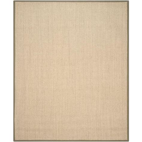 rugs for kitchen floors safavieh fiber beige green 8 ft x 10 ft area rug 4951