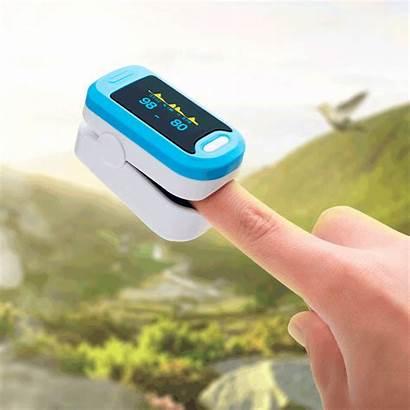 Pulse Oximeter Oxygen Blood Saturation Meter Monitor