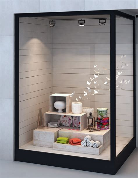 Window Sill Displays by Vanda Is An Architectural And Interior Design Practice