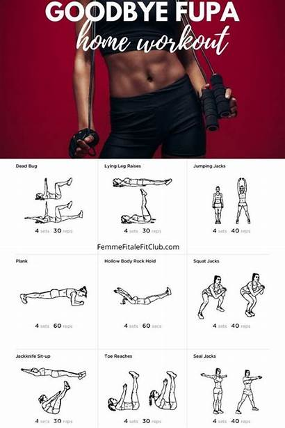 Workout Fupa Belly Pooch Lower Blaster Exercises