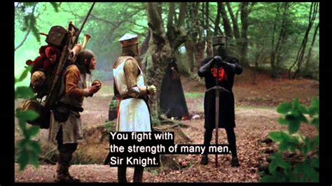 clip black knight monty python   holy grail