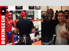 SPARRING TURNS 2 BEEF FLOYD MAYWEATHER MAYWEATHER