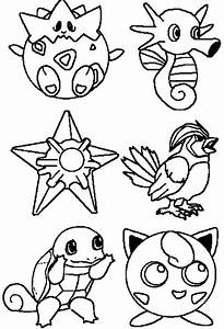 Pokemon Characters Coloring Pages Coloring Pages