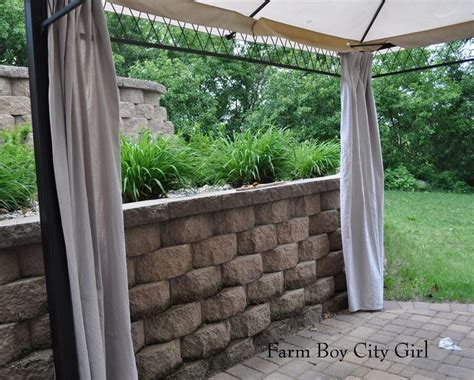 25 best ideas about gazebo curtains on