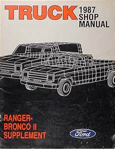 1987 Ford Ranger And Bronco Ii Electrical Troubleshooting